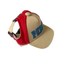 1 قطع في جرو كلب قبعة الكلب الملحقات للكلاب الصغيرة لطيف الأبجدية الكلب قبعة قابل للتعديل البيسبول القبعات الصيف gorro perro