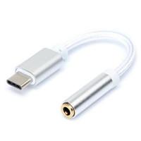 USB 3.1 Tip C 3,5 mm Adaptör Kablo Kulaklık Kulaklık Jack Dönüştürücü For Nexus 5X 6P / OnePlus 2 / Moto z