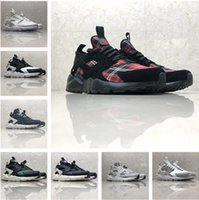 fe5b683b8229 New Arrival. Wholesale 2019 Huarache 1.0 4.0 Running Shoes Grey Red Green  Triple black white Blue Classicl Trainers Sport Athletics Sneakers