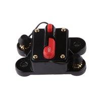 Manual de Auto Car Marina Inline disyuntor 150Amp Audio Reset Portafusible