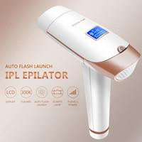 DHL Fast Ression Free LCD Домохозяйство Epilator Home Использование IPL Лазерное эпилятор Удаление волос Омолаживание кожи Электрический EPILATOR IPL