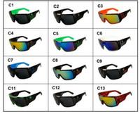 نظارات شمسية للرجال العلامة التجارية مصمم oculos دي سول كبير الإطار الوجه دومو رجال الرياضة طلاء نظارات gafas دي سول masculino B2030 موك 10 أزواج