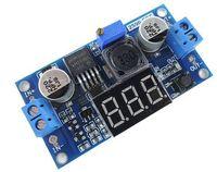 5V a 12V, 12V a 24V, 5V a 24V de corriente continua DC módulo- LM2596 bajada del convertidor de potencia con tensión LED pantalla del medidor