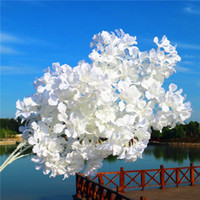 4 Forks Artificial Cherry Blossoms Fake Flowers Leaf Sakura ...