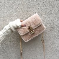 2020 Autumn and Winter New Furry Women' s Bag Elegant On...