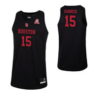 New Arrival. Neil VanBeck Stitched Red Mens Houston Cougars Landon Goesling  Black Nate Hinton White College Basketball Jersey 9f24fbef9