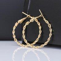 2019 золотые серьги для женщин мода большой полый круг серьги бал партии ночной клуб подарок подруга серьги залог GB