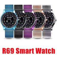 2019 Nuovo Smartwatch R69 Smart Watch Bluetooth per smartphone Android SIM Card Slot Salute NFC per Android con scatola al minuto