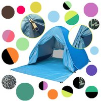 34 colors UV Protection Beach Tent Automatic Instant Pop Up ...