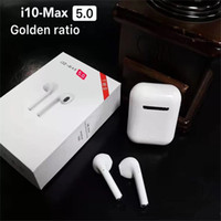 i10 MAX TWS with Charing Box V5. 0 Bleutooth Headset Headphon...