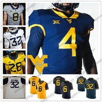 quality design ed0a0 6eae0 Wholesale West Virginia Mountaineers Jersey for Resale ...