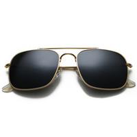 أعلى جودة المستقطبة عدسة زجاج رائد الكلاسيكية نظارات شمس رجل إمرأة عطلة النظارات الأزياء الشمس مع الحالات حرة والاكسسوارات 3595