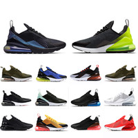 Nike Air max airmax 270 shoes Volt Regency Purple Men women University Red Triple Black white Tiger olive Training Outdoor Sports Mens Trainers Zapatos Sneakers