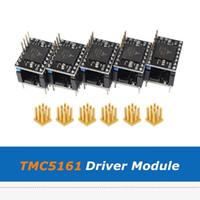 5PCS / 많은 슈퍼 음소거 SPI TMC5161 드라이버 모듈 + 드라이버 유형 원활한 들어 Nema17 NEMA23 스테퍼 모터 3D 프린터 부품