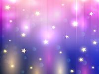 Bokeh 팟 푸른 보라색 비닐 사진 배경막 반짝이는 별 사진 배경에 대한 어린이 생일 파티 스튜디오 소품