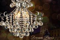 Freeshipping / lot 20pcs 40 millimetri superiore sfera sfaccettata cristallo per lampadario Penant (Vai Anelli) palla Fenghui decorazione domestica