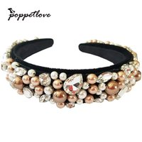 New Fashion European Vintage Baroque Headband full Imitation...