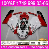 Ducati 749-999 749S 999-999 999 03 04 05 06 Body 33hm.5 Sale Red White 749 999 S R 749R 999R 2003 2004 2006フェアリング