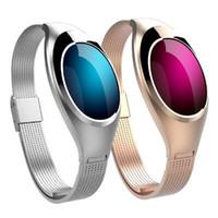 Z18 Smart-Armband-Blutdruck-Blut-Sauerstoff-Puls-Monitor-Smart-Uhr-wasserdichter Bluetooth Sport intelligente Armbanduhr für IOS Android