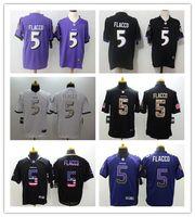 New Arrival. 2019 New Mens 5 Joe Flacco Baltimore Jersey Ravens Football ... ab50ce584