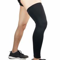 Knee mangas Fina Suporte Brace Protector aquecedores alta Elastic rótula Kneelet para esportes e desgaste diário confortável e respirável G1059