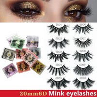 6D False Lashes Square Lash boxes 20mm Long False Eyelashes ...
