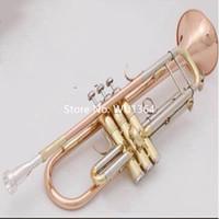 케이스 액세서리 무료 배송 핫 판매 브랜드 바흐 LT180S-39 트럼펫 비비 황동 악기 전문