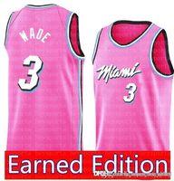 8c226215639f New Arrival. Miami Dwyane 3 Wade Heat Jersey Philadelphia Jimmy 23 Butler  76ers Earned Edition Derrick 25 Rose Timberwolves Stephen 30 Curry Jerseys