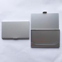 Карман из алюминиевого сплава Карманный бизнес-имя Держатель карты Кредитная карточка ID Корпус металлического ящика DLH117
