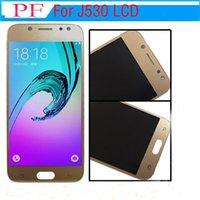 Precio de fábrica para Samsung Galaxy J5 2017 J530 Pantalla LCD para Samsung J530 J530F LCD Touch Digitalizador Asamblea + Herramienta