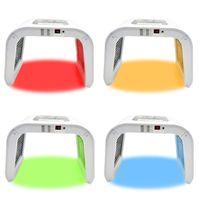7 ألوان LED الوجه فوتون ضوء العلاج آلة أحمر أزرق أخضر أصفر PDT أدوات تجميل للبشرة تجديد