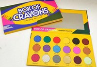 1pcs caldo trucco vendita della gamma di colori scatola di pastelli iShadow palette di 18 colori Cosmetici luccichio di bellezza opaca Ombretto IL CASO CRAYONS