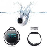 E07 سوار الذكية 24 12 نظام ساعة ماء مقياس الخطو للياقة البدنية المقتفي سمارت ووتش الخطوة عداد الذكية ساعة اليد للحصول على الروبوت فون