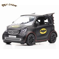 TOY CHEST Brand MINI Pocket Glowing Alloy Car New Style Bat ...