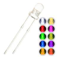 150 pc 5mm RGB Multicolor rapida lampeggiante Dynamics LED diodi Bright Lights illuminazione lampadina Lampade Componenti Light Emitting Diodes