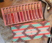 Disponibile !! Hot M Trucco 12 Colore MATE Rossetti Liquid Liquid Kit Cosmetici 12pcs / Set Lip Gloss Set di Epacket