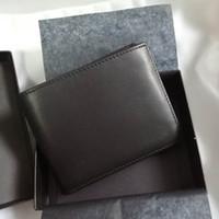 Erkek Patron Cüzdan kredi kartı cüzdan 2020 İTALYAN LEATEHR calfskin RFID para klibi kart yerleştirme cüzdan bozuk para cüzdanı toptan mens