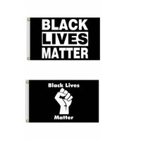 90x150cm BLACK LIVES MATTER Flag Banners Black protest banner American Parade Flags Party Supplies Can Custom GGA3432