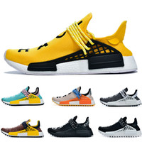 2019 Pharrell Williams Human race trainer Sneaker MEN Running Sports Shoes Size40-47