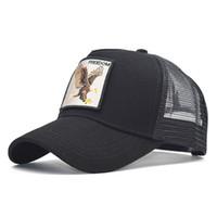 2020 الصيف التطريز موضة جديدة الحيوان شبكة قبعة بيسبول قبعة الرجال والنساء قبعة الهيب هوب الهيب هوب كأب 01