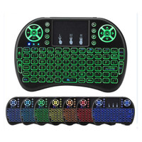 I8 Mini Keyboard Backlight Backlit Fly Air Mouse Rechargeabl...
