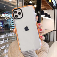 Custodia morbida trasparente per Apple iPhone 12 Mini 11 Pro Max X XS XR 8 7 Plus Back Cover antiurto Nessun pacchetto