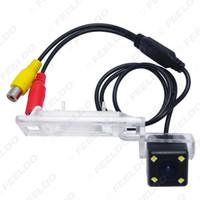 оптовые резервного копирования Специальная автомобильная камера заднего вида с 4LED света для Audi A4L / TT / A5 / Q5 09-12 камера заднего вида # 2925
