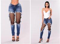 Seksi File Sıkıntılı Jeans Yaz Skinny Jeans Kadın Yüksek Bel Capri Denim Pantolon Kadınlar Streetwear Yeni
