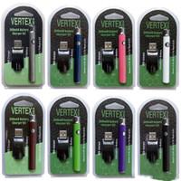 VERTEX VV Prefacio Kits de batería Lo 510 CO2 de la batería Vaporizador de aceite O Pen Precalentamiento de las baterías 350mAh Batería de voltaje variable para cartucho de aceite