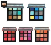 Good Quality Eyeshadow Palette 9 Color Brush Shimmer Pigment...