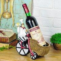 Kreative Resin Chef Weinregal Craft Figurine Weinflaschenhalter Startseite Wein Ornament Regale für Restaurant Preference