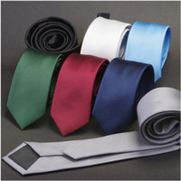Men Solid Navy Blue Classic Ties for Bridegroom Green Color ...