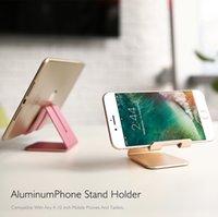 مكتب موقف مخصص فريد ديي الهاتف الخليوي موقف مسنده ألوان متعددة حامل معدني تصميم لقرص الهاتف المحمول