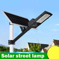 Iluminazione pubblica solare all'aperto di 100w 150w 200w con il chip luminoso LED impermeabilizza il risparmio energetico IP65 per il dropshipping all'ingrosso di illuminazione del giardino